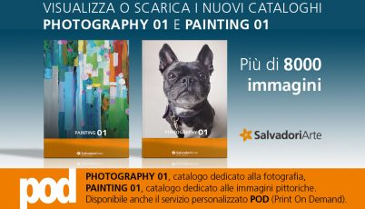 Nuovi cataloghi PHOTOGRAPHY 01 e PAINTING 01