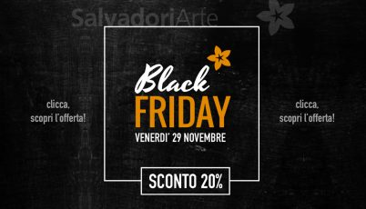 Black Friday – sconto 20%